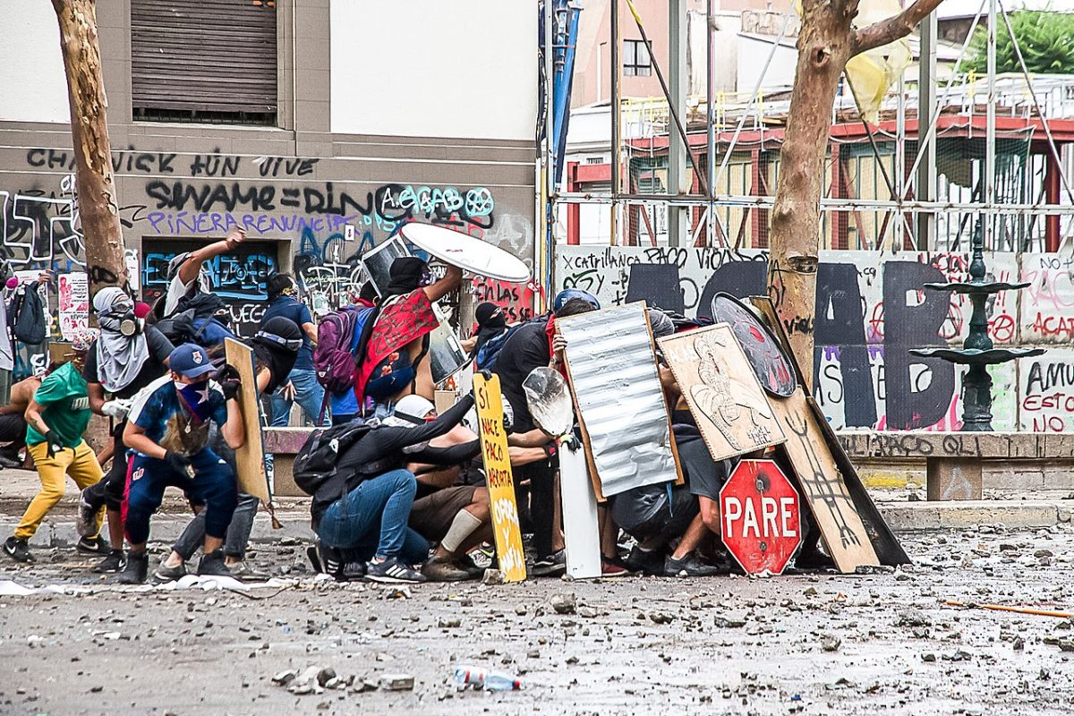 Willkommen an der vordersten Front der Zusammenstösse: Jenseits von Gewalt und Gewaltlosigkeit