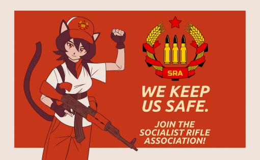 """""""Wir schützen uns"""" – Ein Gespräch über Waffen mit Amerikas sozialistischer Rifle Association"""