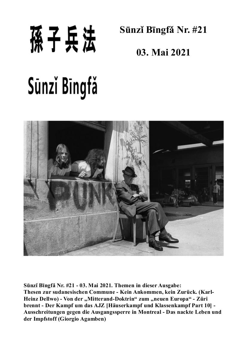 Sūnzǐ Bīngfǎ Nr. #21- 03. Mai 2021